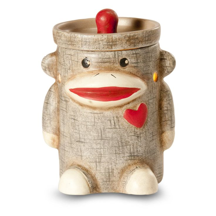 Amazon.com: Sock Monkey by ScentSationals® - Mini Size Electric Candle Warmer…