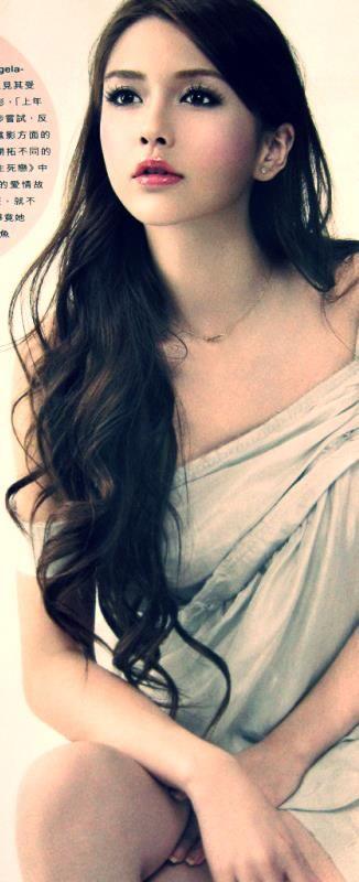 Angelababy, a Hong Kong-based model, actress, and singer.
