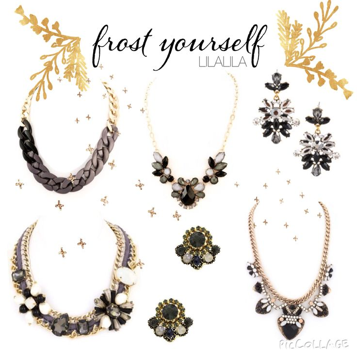 LILALILA statement jewelry
