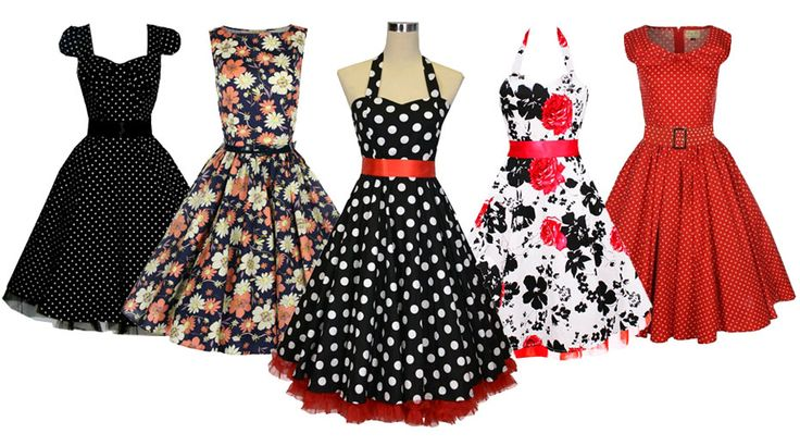 17 Best Images About 1950s Style Vintage Swing Dresses On