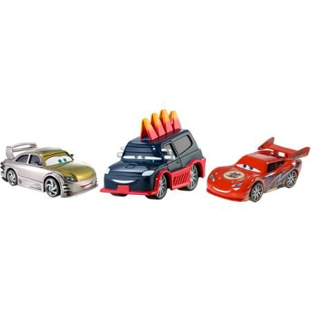 Disney Cars Toons 3 Race to the Finish Die-Cast Vehicle - Walmart.com