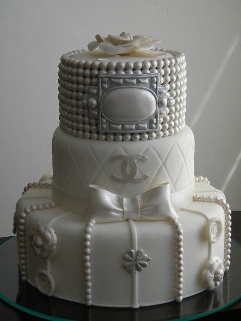 Chanel cake- Bridal Shower