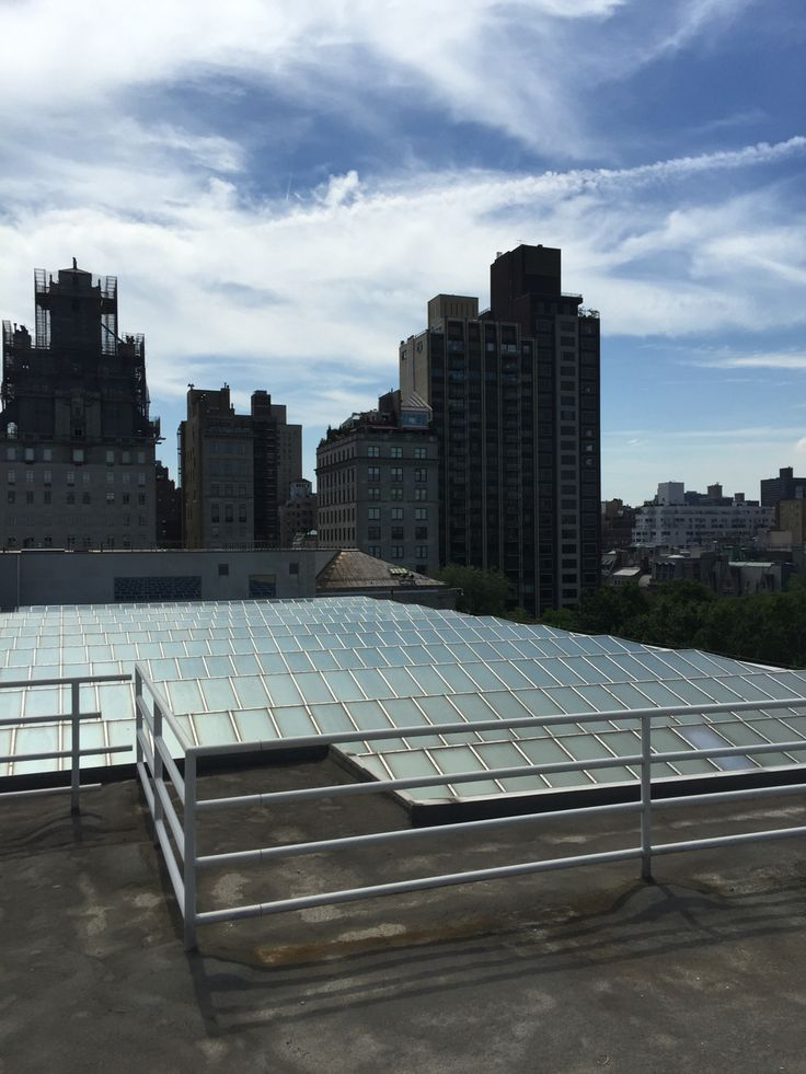 ON TOP OF THE METROPOLITAN MUSEUM IN NEW YORK CITY