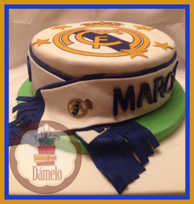 Torta del Real Madrid!!!