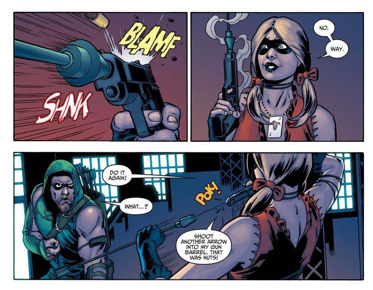 Harley Quinn 'Arrow' LOL