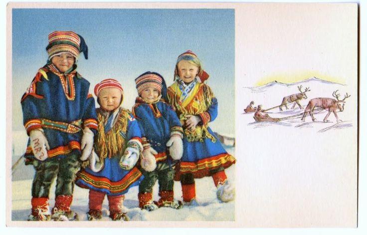 Sápmi children 1940 - Saamelaislapsia 1940