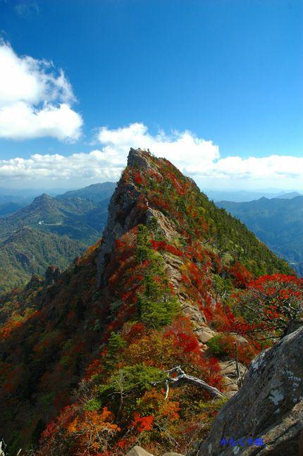 自然が綺麗な石鎚山。愛媛県の絶対おすすめ観光スポット