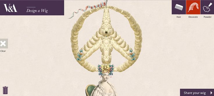Design Your Own Marie Antoinette–Style Wig with the V&A's Addictive New Game