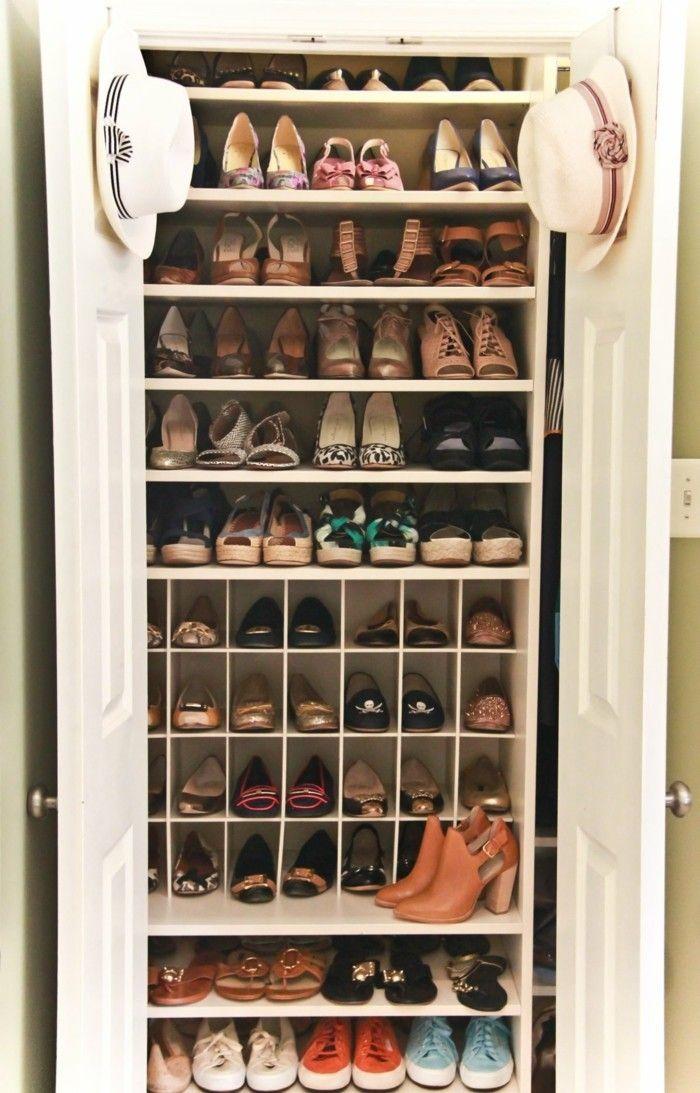 Schuhschrank Selber Bauen Eine Kreative Schuhaufbewahrung Idee Archzine Net Schrank Schuhablage Schuhschrank Design Schuhschrank