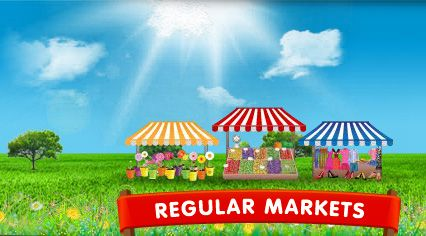 Regular Markets - market listings