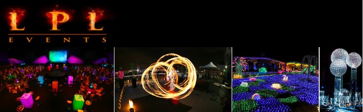 Bright & colourful Corporate Events