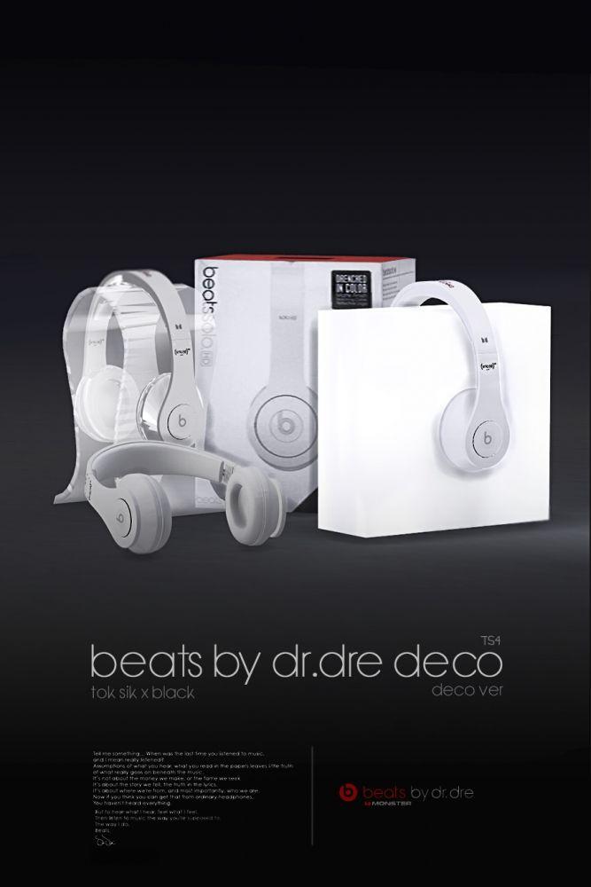 Beats by dr.dre decor at Black-le via Sims 4 Updates