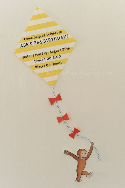 awesome curious george birthday party - pin the tie on the man with the yellow hat, plus hat ring toss, dog piñata, etc.