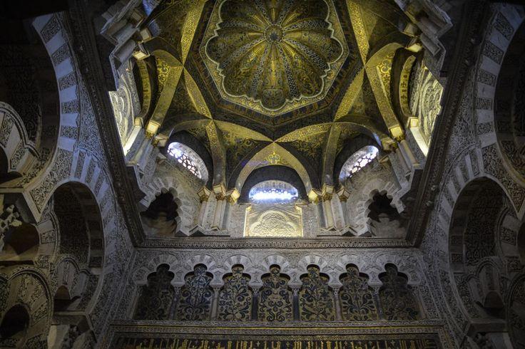 Kuppel in der Mezquita von Cordoba, Spanien.