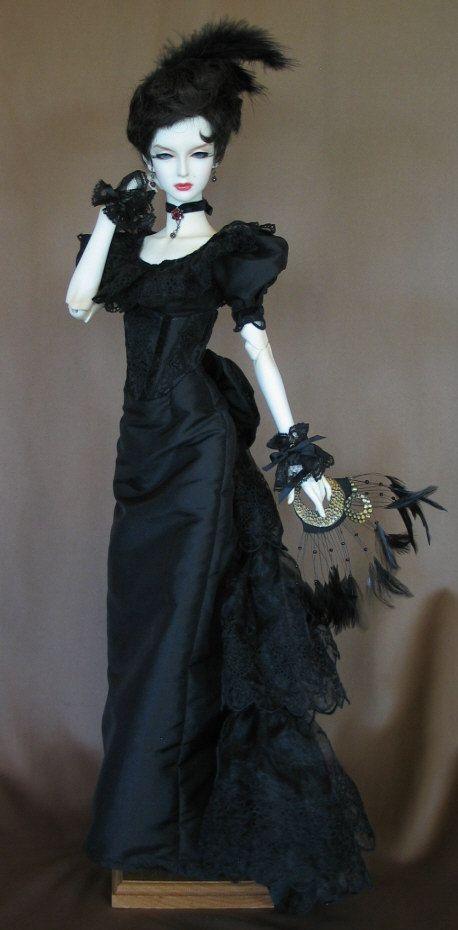 Madame Noir  FULL SET for Soom Super Gem female BJD. $199.00, via Etsy.