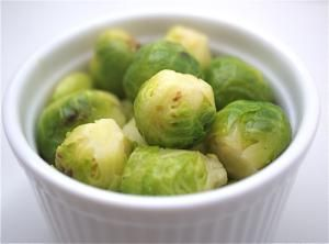 20+ Seasonal Brussels Sprout Recipes for the Thanksgiving Table: Keep Thanksgiving Old School: Steamed Brussels Sprouts