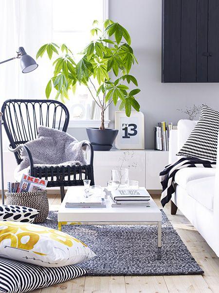 1000 images about salons on pinterest deco ikea sofa and design shop. Black Bedroom Furniture Sets. Home Design Ideas