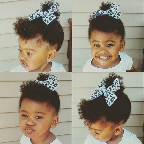 black baby girls hairstyle