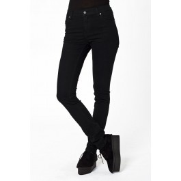 Blugi Cheap Monday Tight Very Stretch Black - 225 lei - http://superjeans.ro/femei/femei-blugi/blugi-femei-cheap-monday-tight-very-stretch-black.html