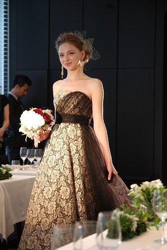 #show #NOVARESE #BTNV175 #wedding #weddingdress #NOVARESE ##ウエディング #ウエディングドレス #ノバレーゼ #ショー #東京 東洋軒