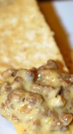 Hanky Panky Sausage Cheese Dip - rye bread party pizza dip