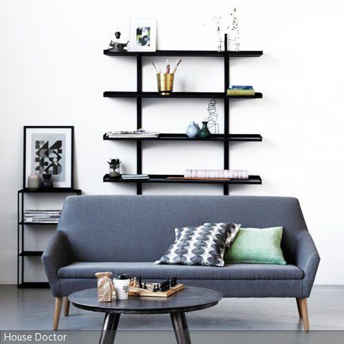 34 besten wohnen in grau bilder auf pinterest grau graue w nde und wandfarbe. Black Bedroom Furniture Sets. Home Design Ideas