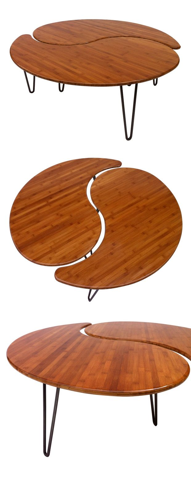 yin and yang motif two table find the perfect balance coffee table