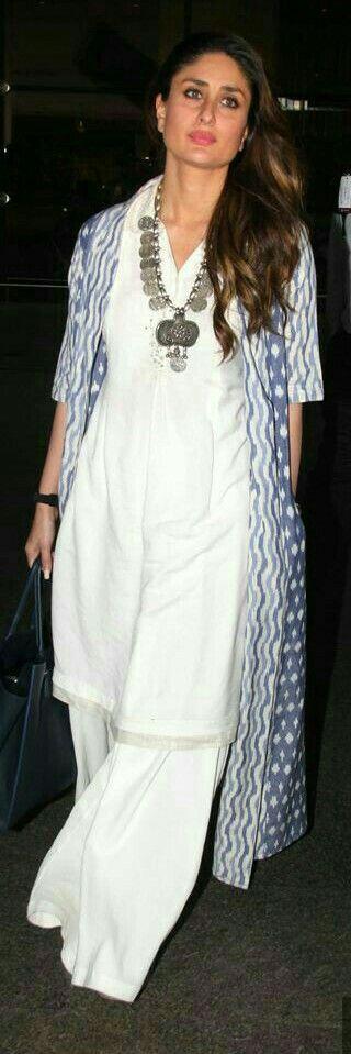 Kareena kapoor in a chic look . #summerfeel