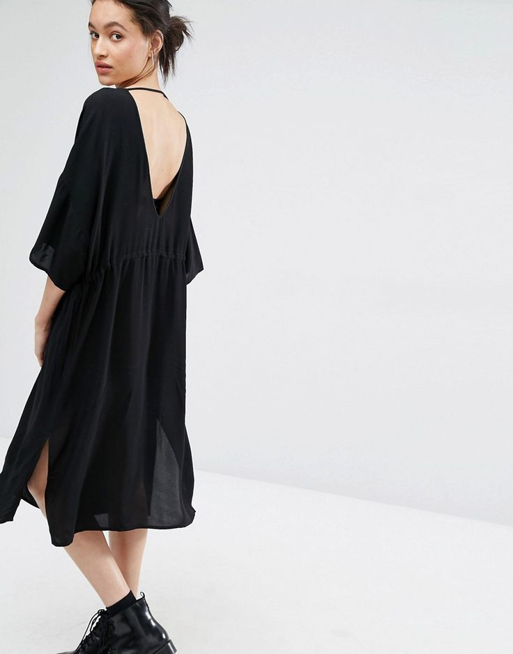 Just+Female+Essie+Dress+with+Plunge+Back