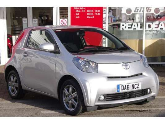 Used 2011 (61 reg) Silver Toyota IQ 1.0 VVT-i 2 3dr for sale on RAC Cars Check This Awsome Car for Sale out! Car is lowered on 18s but comes with stock rims and a brand new tire. It has dark tinted windows .Also comes with a new aftermarket passenger fender. Car is parked on Pacific ave in Tacoma next to the gas station on the corner of 64th and Pacific. If after seeing it you are interested get ahold of me for a test drive. Cash takes it home today 1900 OBO. Clean title.