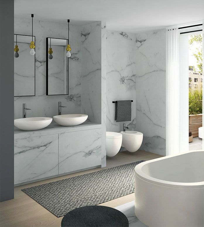 These products are from the La Giare range, which will be available from C.P. Hart from November 2015 #new #bathroom #products