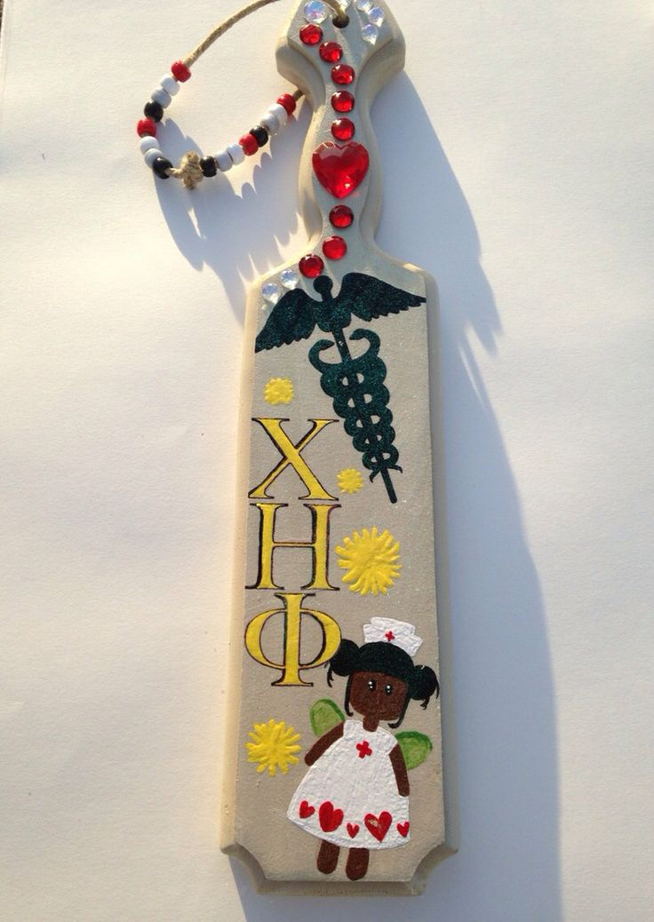 chi eta phi sorority nurse paddle by sosweetsoror on etsy   35 00