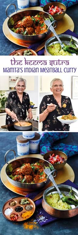 My mum Mamta's delicious Indian Meatball Curry Recipe, really really delicious and not at all difficult to make. The post includes a recipe video so you can see the steps visually, plus the full recipe text and detail too.