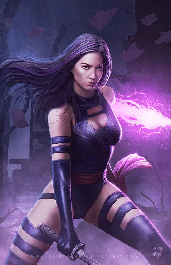 Marvel Psylocke Art 380 best MARVEL ·...