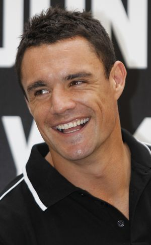 Dan Carter of the NZ All Blacks
