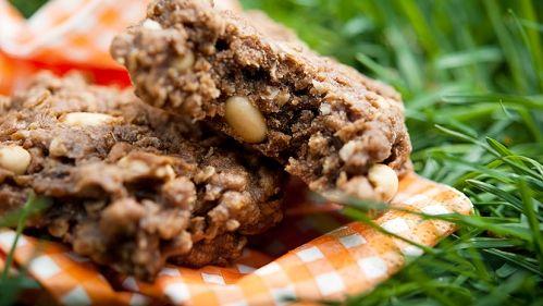 Carrés galette arachides Genevièe O'gleman