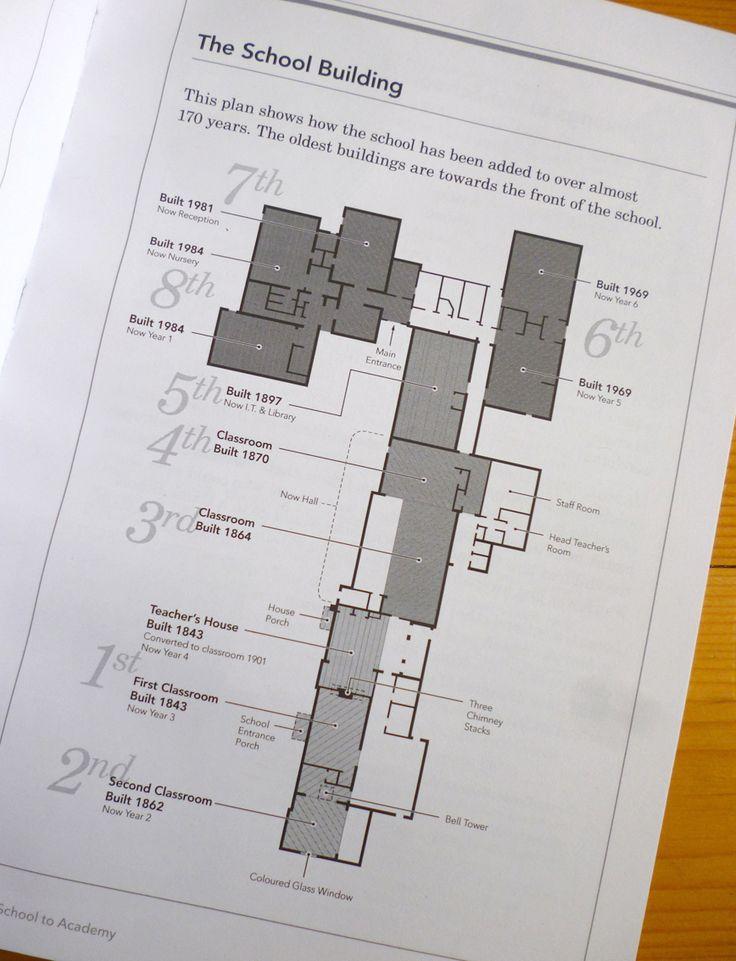 ambientdan | graphic design » school history  Floorplan design