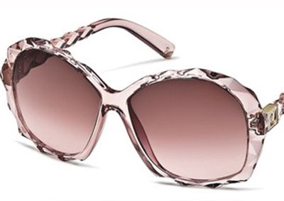 I've always wanted to see the world through rose colored glasses :) ... swarovski sunglasses