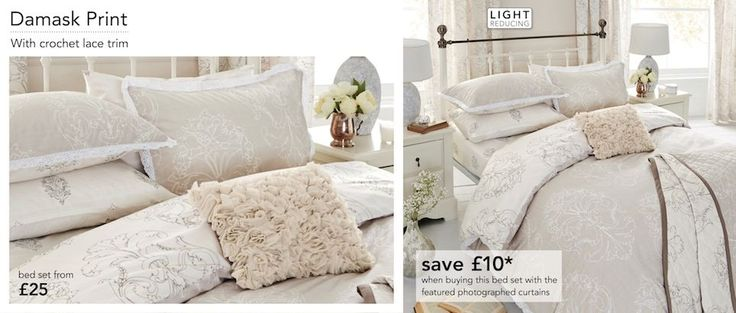 """Bed Linen - Page 5   Wedding bed linen.  I have a love for bed linen as it is. And to have one as a special reminder periodically throughout the year of our """"big moment"""" would be a lovely idea. X  @Next  #MyBigMoment"""
