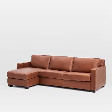 Cheap Sofas Henry Set Left Arm Storage Chaise Right Arm Sofa Sleeper Leather Cocoa