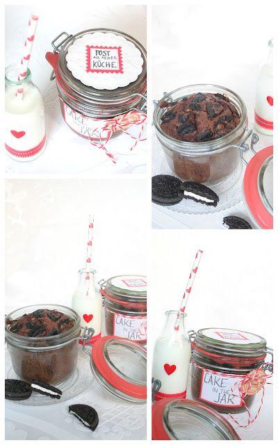 Oreo-Cake in a jar