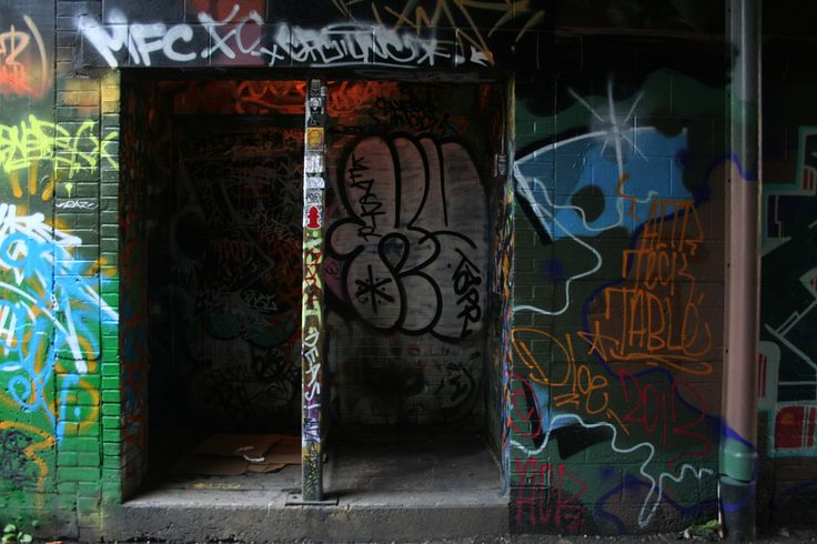 #Graffiti in #Toronto alleyways