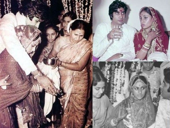 Amitabh Bachchan and Jaya Bhaduri were co-actors in many films before they got married. In 1973, Big B broke so many hearts and married Jaya after a long courtship. | www.indipin.com #Indipin