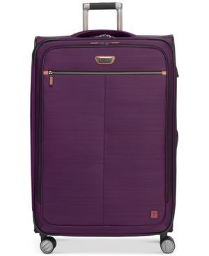 "Ricardo Cabrillo 29"" Softside Spinner Suitcase, Created for Macy's - Purple"
