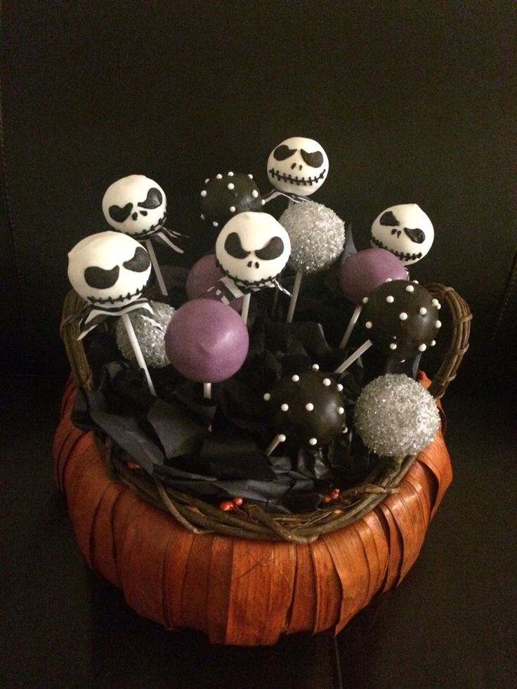Nightmare Before Christmas Cake Pops Suzy Q Cakes