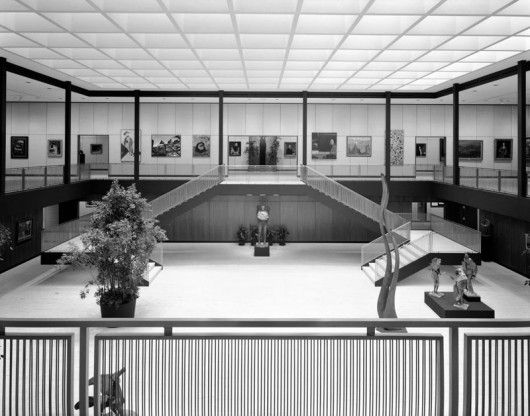 Munson-Williams-Proctor Arts Institute / Philip Johnson / Utica, NY © Ezra Stoller/Esto