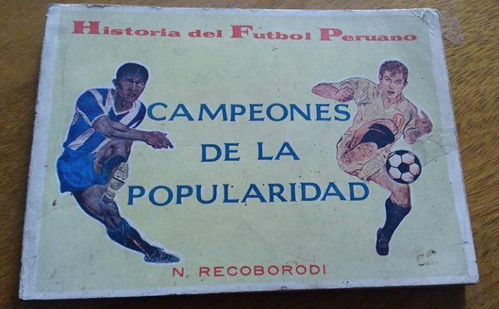 Pequeño libro sobre #Universitario y el clásico del fútbol peruano. Año 1969. Autor: Nicolás Redkoborodiy....