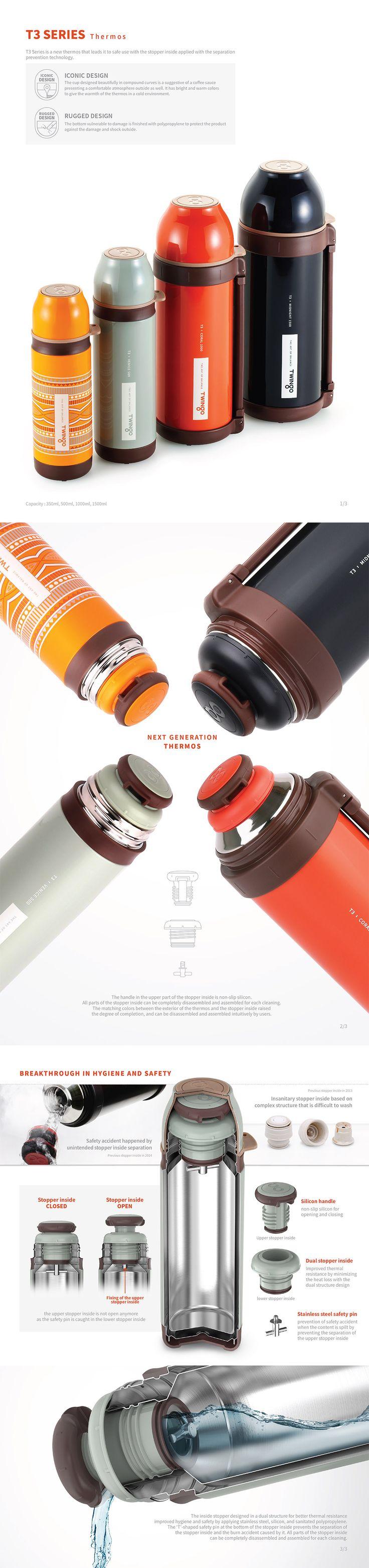 Twingo T3 Thermos, Vacuum Flask, Bottle, Jar, Container, Design