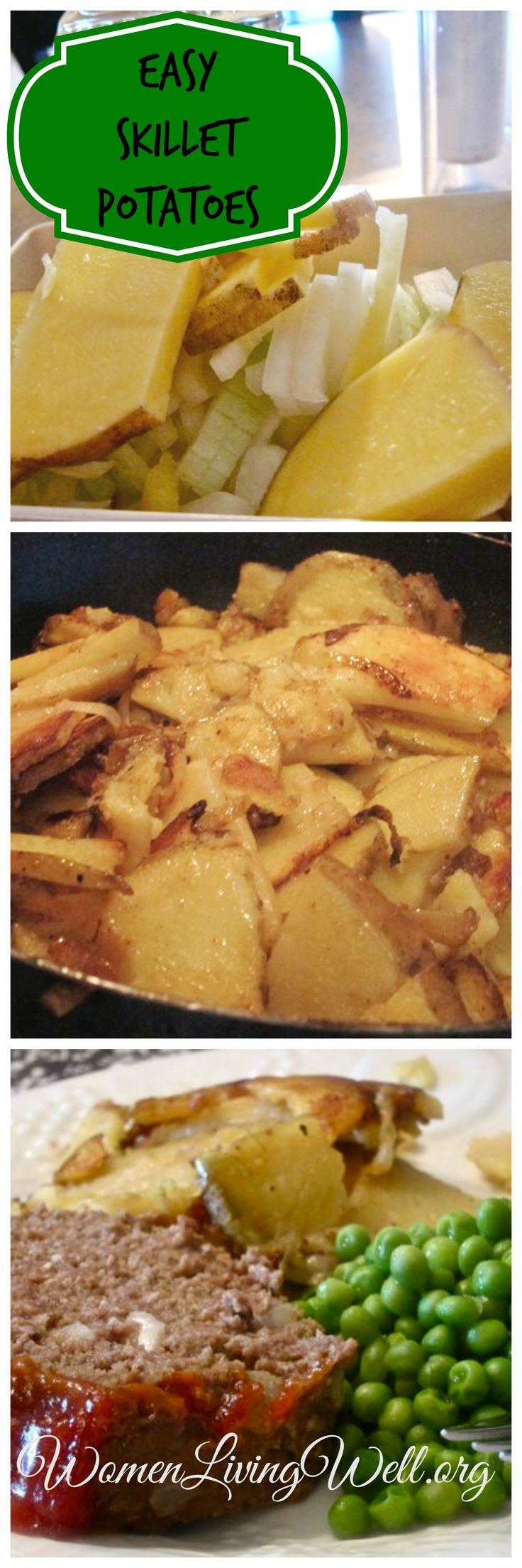 Easy Skillet Potatoes