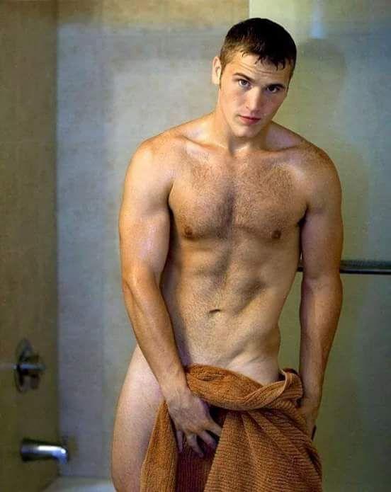 Gay sex in public shower